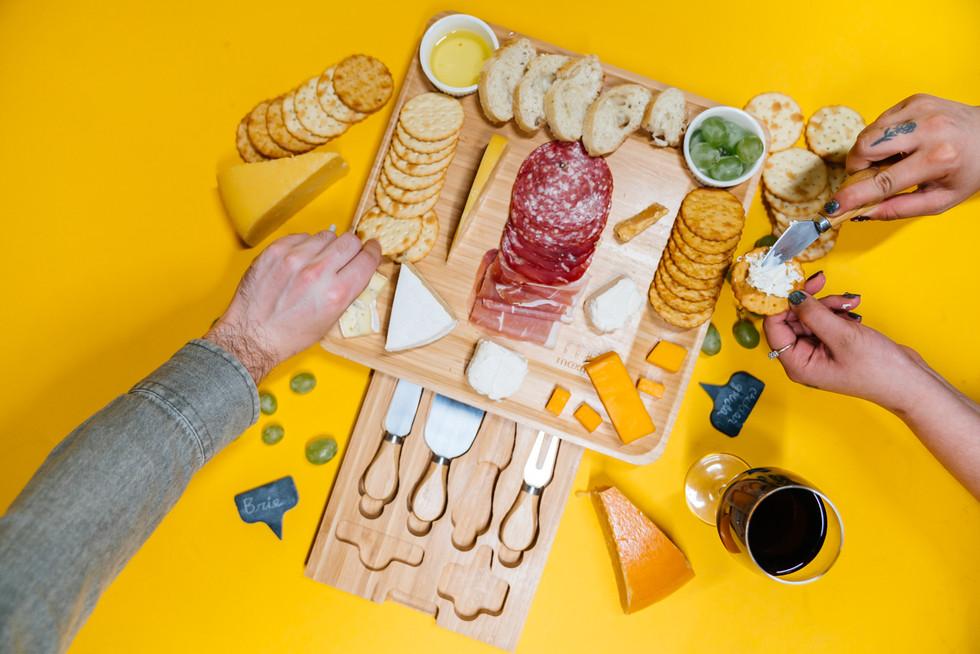Charcuterie Board | Kelly Ngo | Chromatone Studios | Styled Food + Product Photography