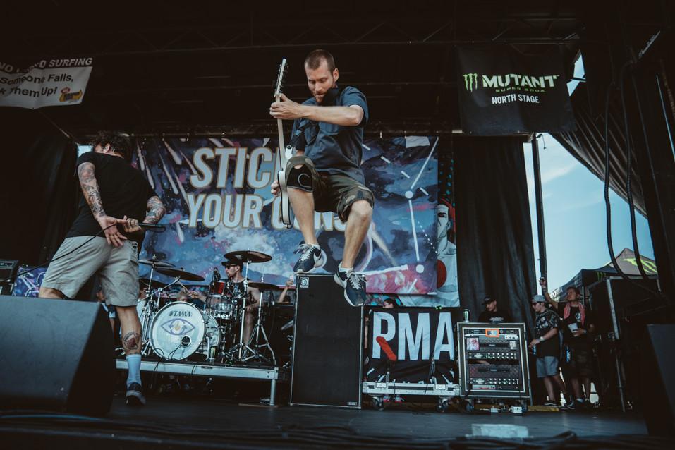 Stick To Your Guns | Warped Tour | Music Photography | Kelly Ngo | Chromatone Studios