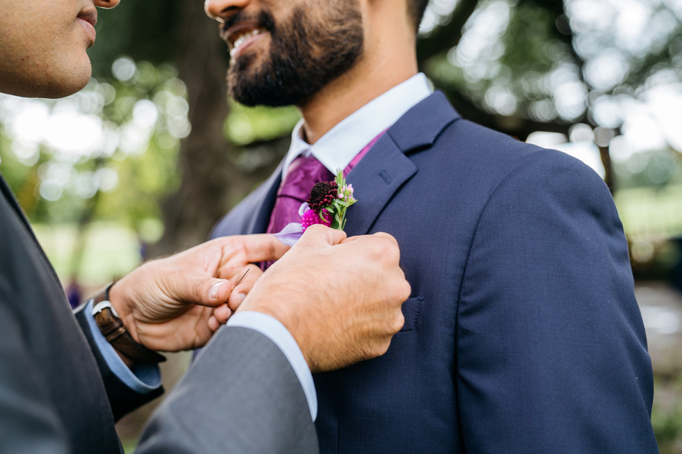 Groom With Best Man | Wedding Photography | Chromatone Studios
