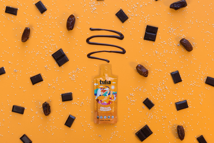 Chocolate Supersnack Health Food | Tulia | Product Photography + Styling | Chromatone Studios