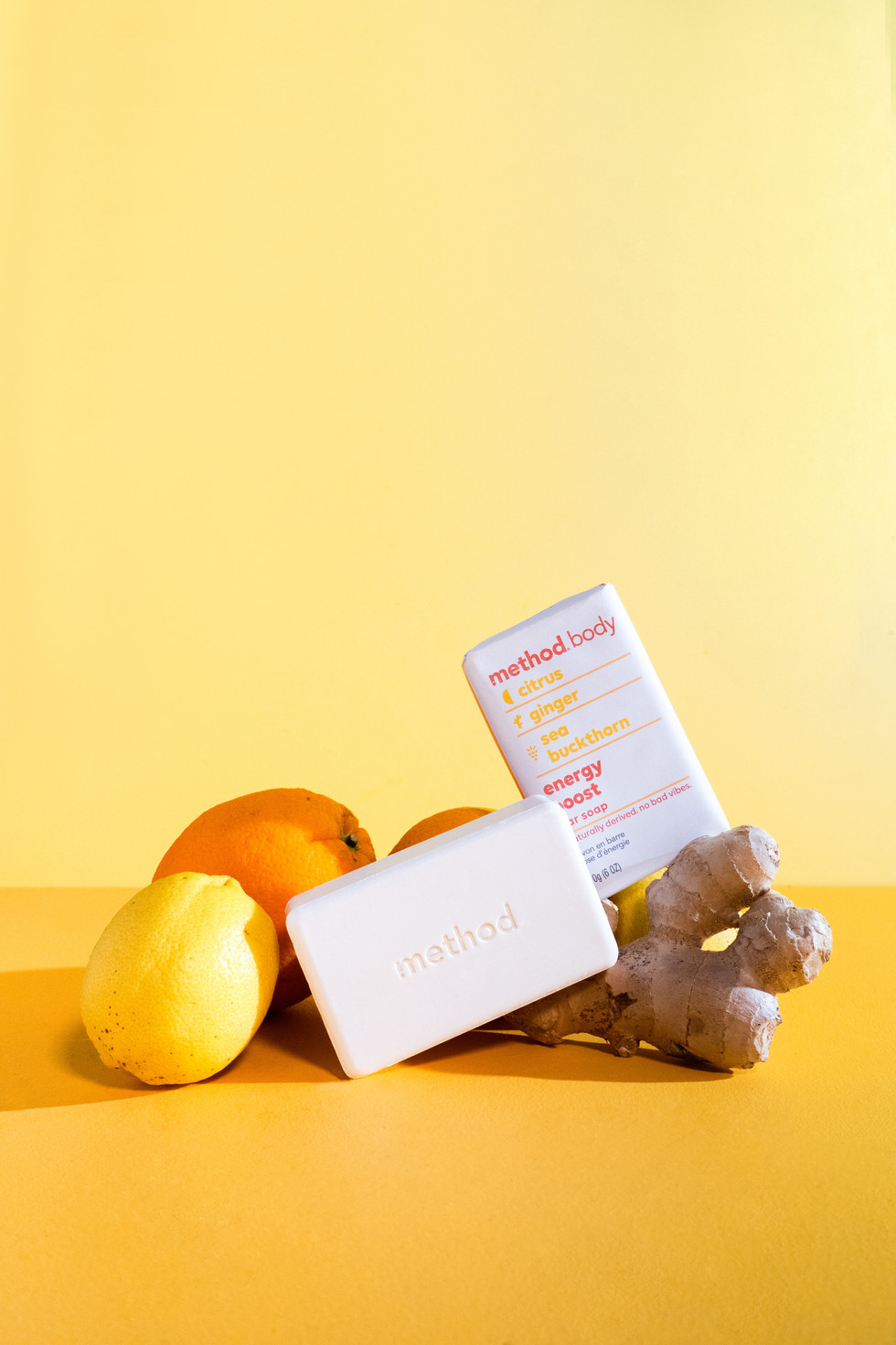 Soap With Citrus + Ginger | Method Body | Product Photography + Styling | Chromatone Studios