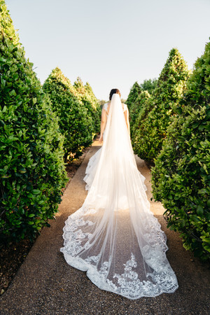 Wedding Dress with Train | Wedding Photography | Chromatone Studios