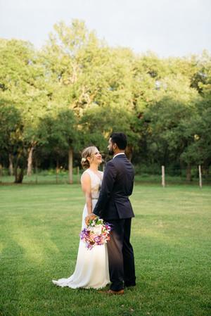 Bride and Groom Outdoors | Wedding Photography | Chromatone Studios