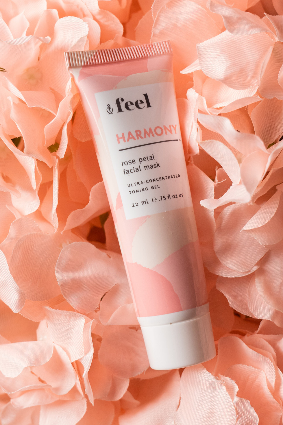 Face Mask With Rose Petals | Feel | Product Photography + Styling | Chromatone Studios