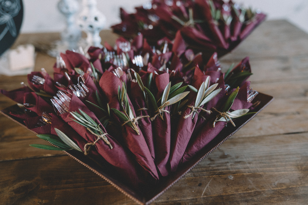 Wedding Cutlery | Wedding Photography | Chromatone Studios