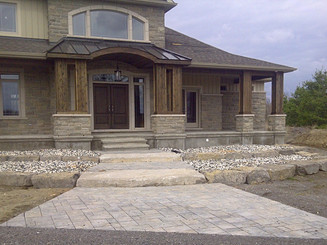 front natural steps with interlock_edite