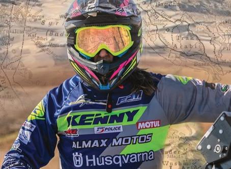 Audrey Rossat participe au Paris-Dakar 2021