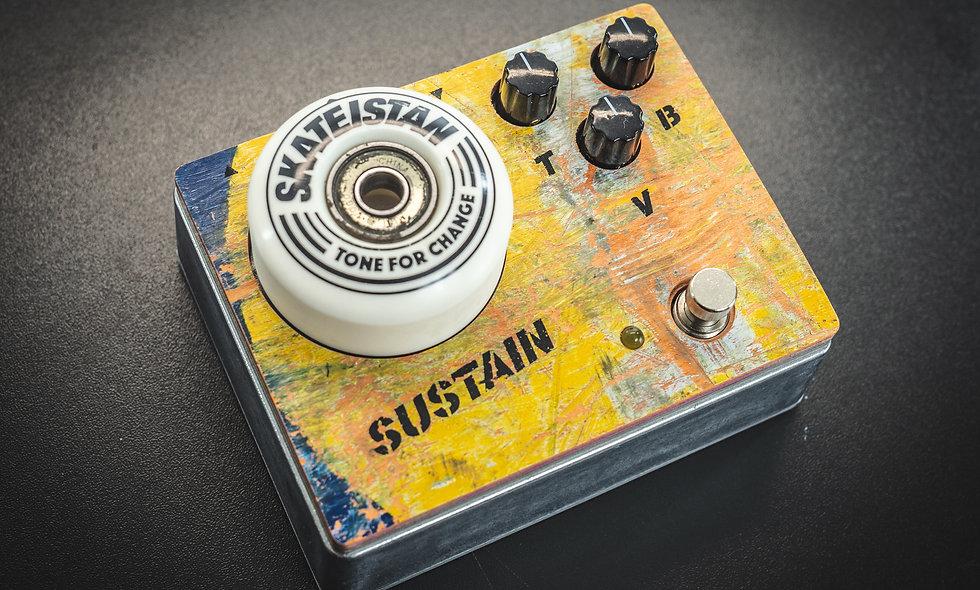 "Limited Edition ""Skateistan Skatedeck"" Fuzz Pedal"