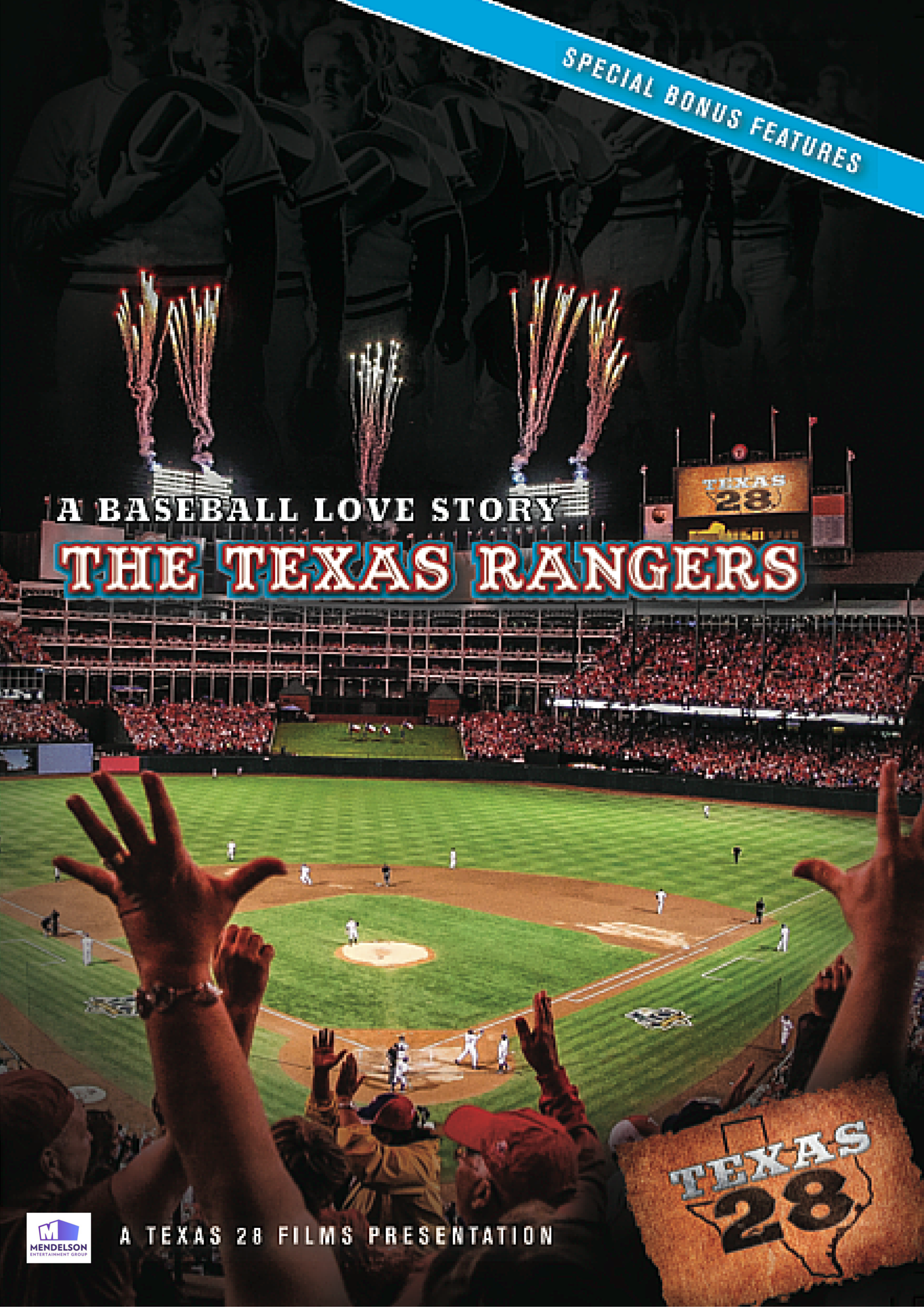 Texas Rangers DVD Cover