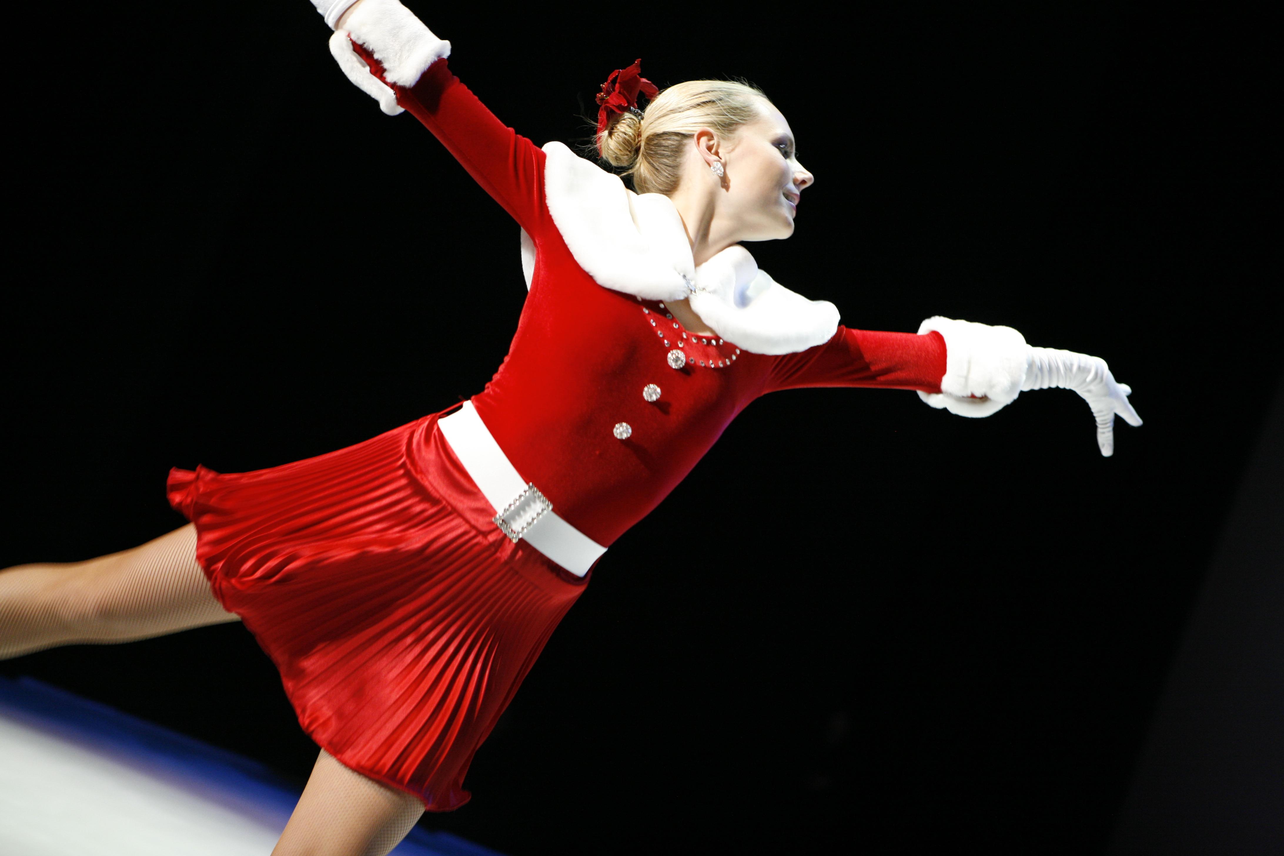 Christmas skater