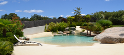 piscina de areia