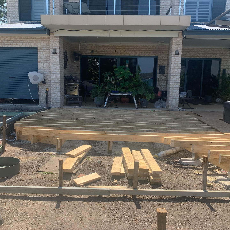 Constructing the Modwood deck