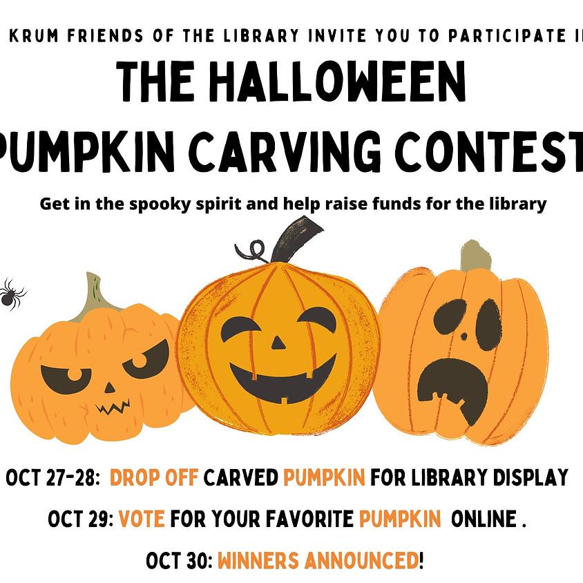 Pumpkin Carving Contest & Fundraiser