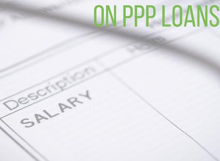 SBA Guidelines on PPP Loans