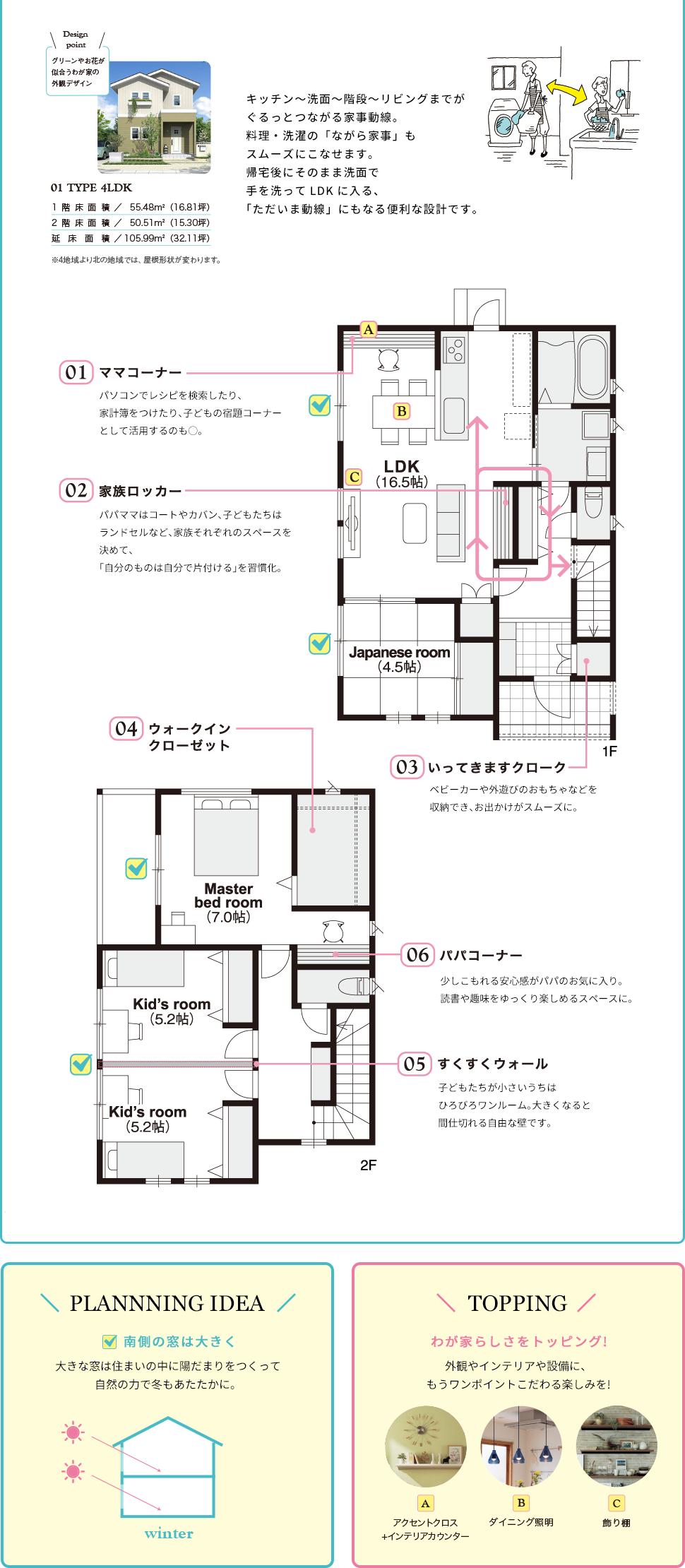 キッチン,洗面,階段,リビング,料理,せんt洗濯