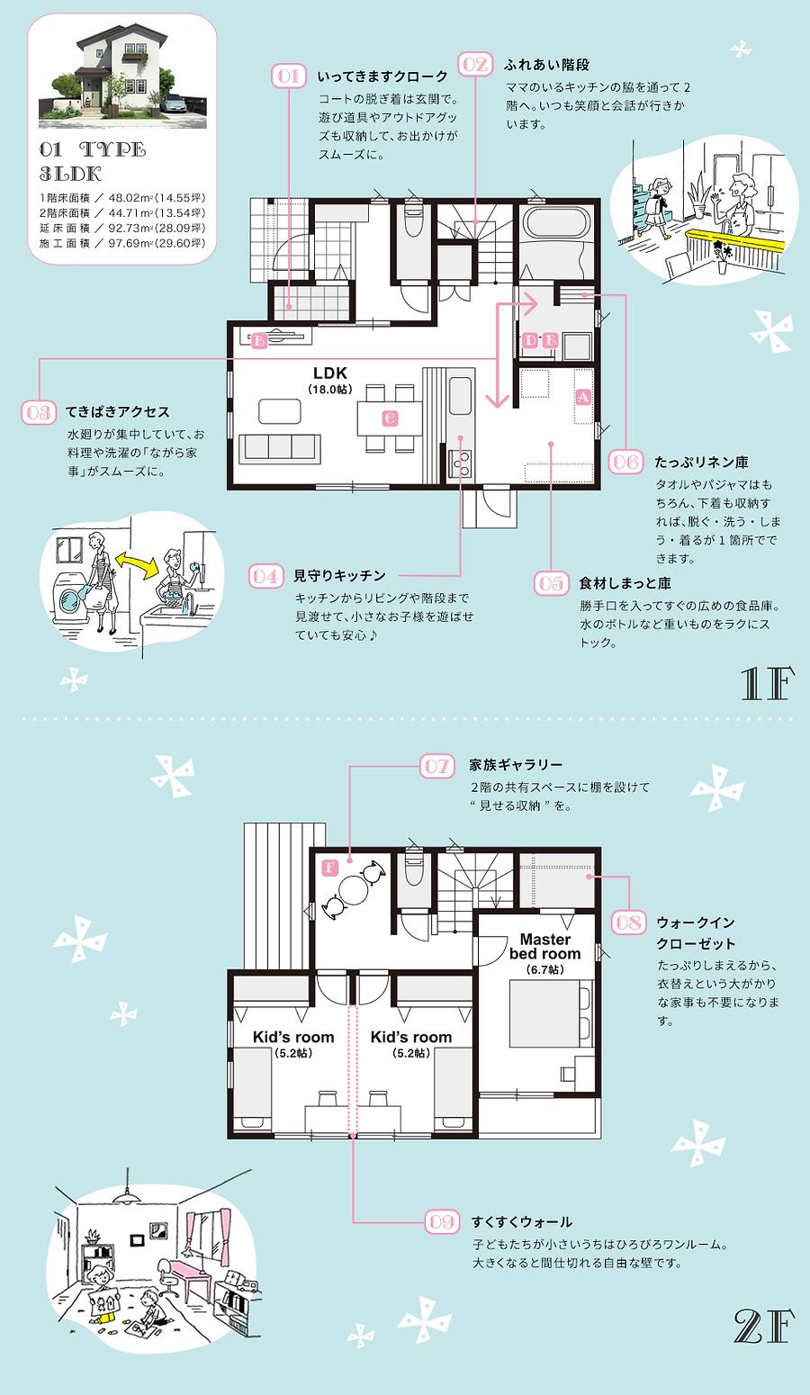 整頓,家,階段,リネン庫,ウォークインクローゼット