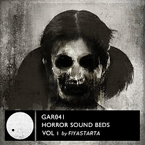 GAR041 Horror Soundbeds Vol 1_cover-Fiya