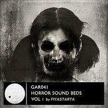 GAR041 Horror Soundbeds Vol 1_cover-Fiya