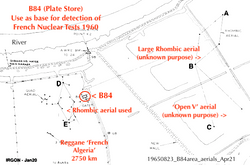 Nuclear Test Detection French Sahara