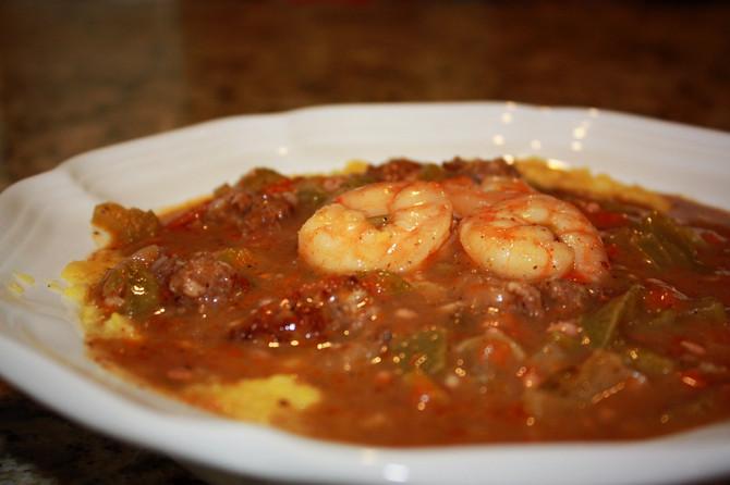 DELICIOUS Sausage & Shrimp Gumbo -GF-DF-SF-EG