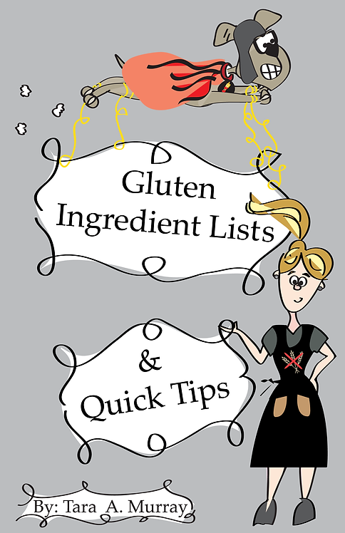 Gluten Ingredient Lists & Quick Tips