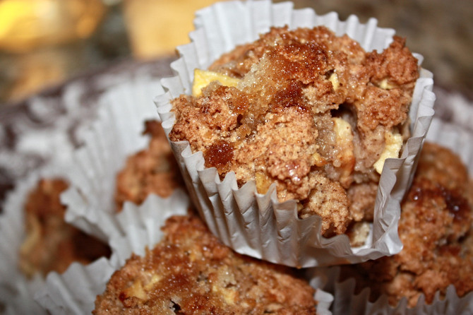 Apple-Cinnamon Muffins