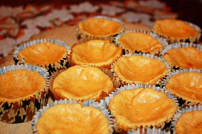 Rich, EASY Pumpkin Cheesecake Bites | GF