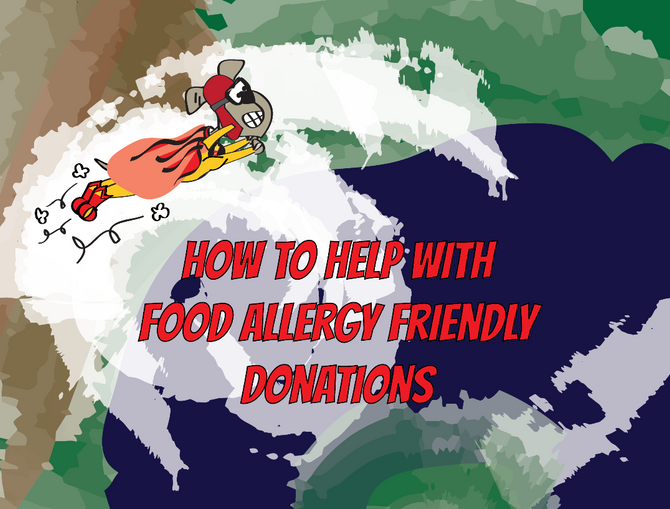 Food Allergy Friendly Donations for Hurricane Harvey