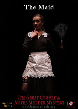Babette in THE GREAT COMMEDIA...