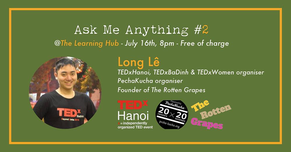 Ask Me Anything #2 - Long Lê