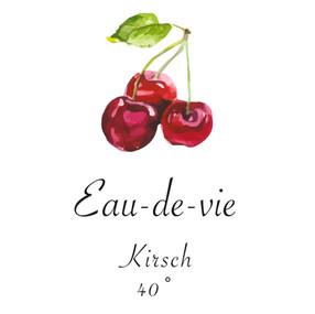 Kirsch   -   Eau-de-vie