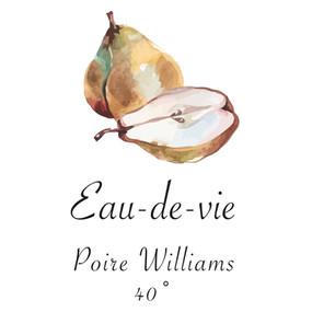Poires Williams   -   Eau-de-vie