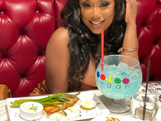 Simone Kelly and Friends Visit Sugar Factory Las Vegas For Influencer Dinner