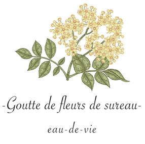 Goutte de fleurs de sureau  -  eau-de-vie