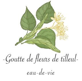 Goutte de fleurs de tilleul  -  eau-de-vie
