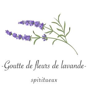 Goutte de fleurs de lavande  -   spiritueux