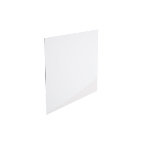 "66"" x 37 5/16"" Clear Tempered Glass 1/4"""