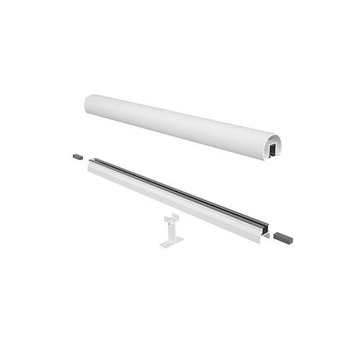 10' Top & Bottom Rail for Glass Railings
