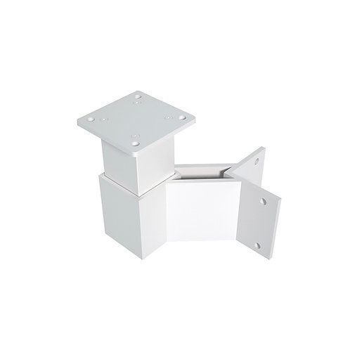Fascia Outside 90 Degree Corner Bracket For Standard Post