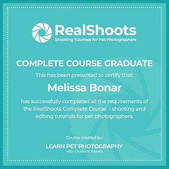 RealShoots Graduate social media - Melis