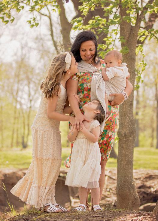 family in Hendersonville