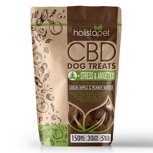 CBD Dog Treats - Stress and Anxiety by Holistapet