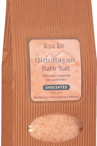 Himalayan Bath Salts unscented 2lbs 3oz