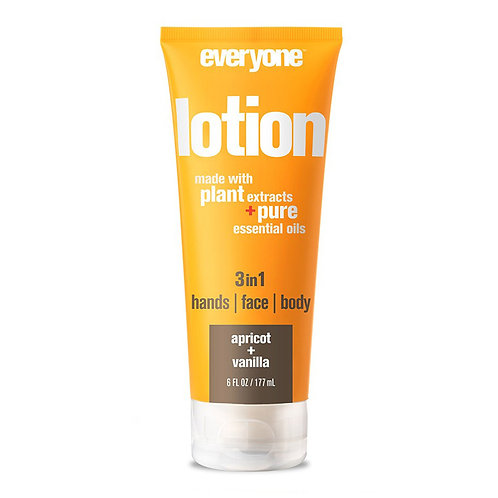Everyone 3 in 1 Lotion Hand, Face and Body Apricot Vanilla