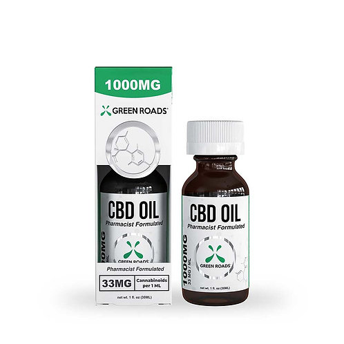 1,000mg CBD Oil Green Roads