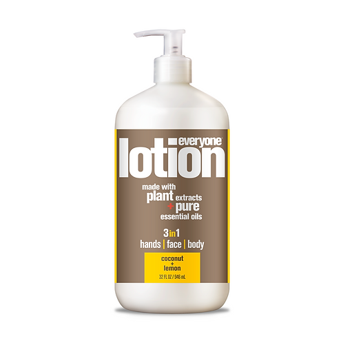 Everyone 3 in 1 Lotion Face, Hands and Body Coconut Lemon