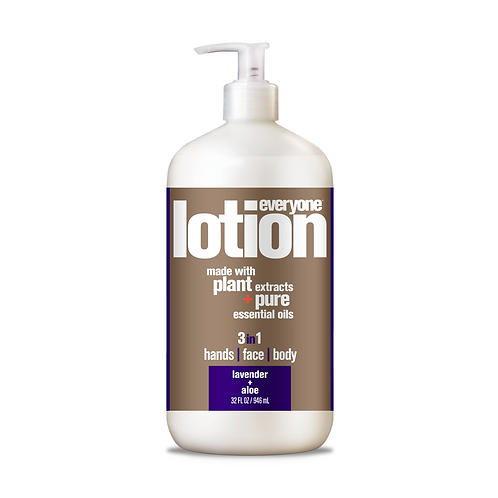 Everyone 3 in 1 Lotion Hand, Face and Body Lavender Aloe