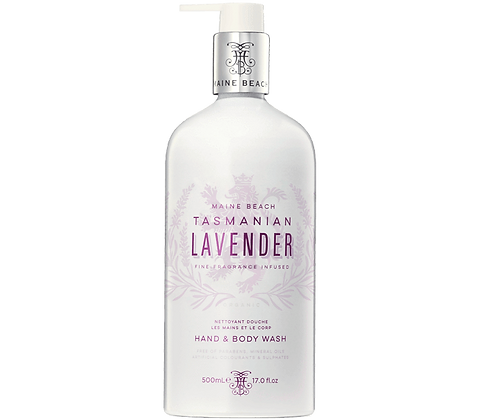 Tasmanian Lavender Hand & Body Wash 500ml