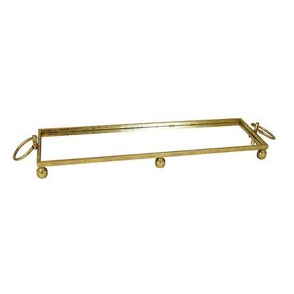 Gold Rectangular Tray (Large)