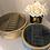Thumbnail: Velvet Round Jewellery Box